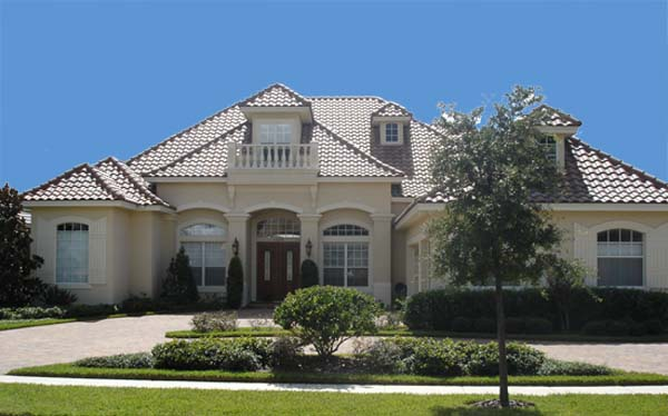 House Plan 74214 | European Style Plan with 3517 Sq Ft, 4 Bed, 4 Bath, 3 Car Garage Elevation