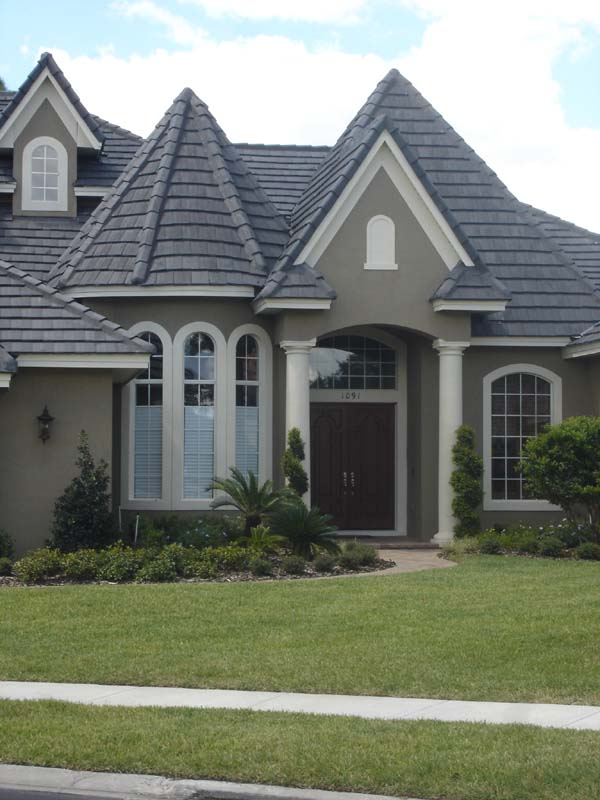 European House Plan 74218 with 4 Beds, 5 Baths, 3 Car Garage Picture 1