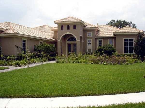 Mediterranean Southwest House Plan 74222 Elevation