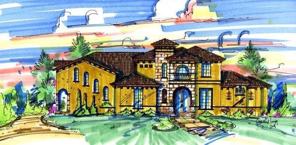 House Plan 74254