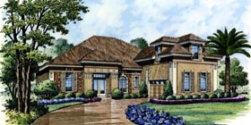 Traditional House Plan 74256 Elevation