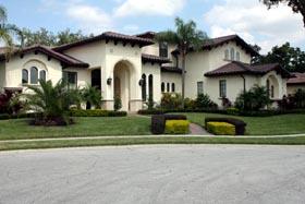 Italian , Mediterranean House Plan 74260 with 5 Beds, 6 Baths, 3 Car Garage Elevation