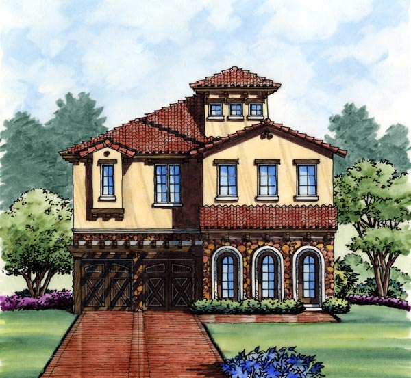 House Plan 74280