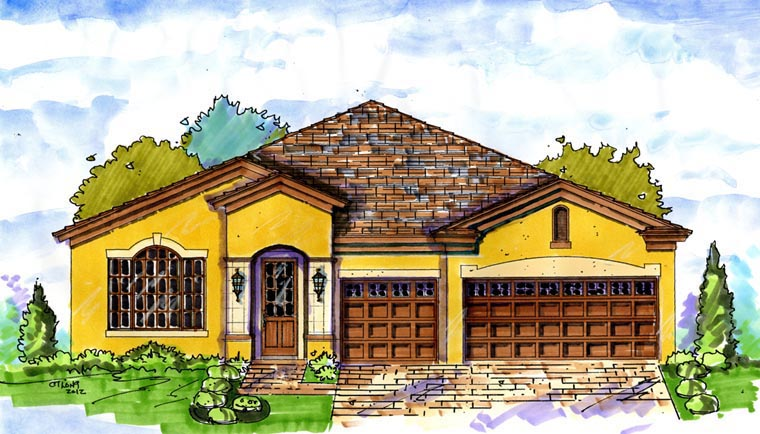 House Plan 74286