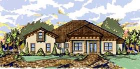 Mediterranean House Plan 74289 Elevation