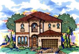 Mediterranean House Plan 74293 Elevation