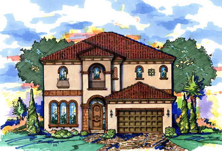 House Plan 74293