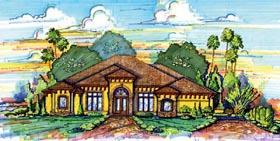 Mediterranean House Plan 74294 Elevation