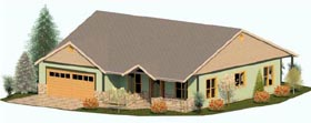 Plan Number 74306 - 2055 Square Feet