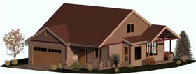 Craftsman , Country , Coastal , Cape Cod House Plan 74333 with 3 Beds, 3 Baths, 2 Car Garage Elevation