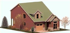 Coastal Country Craftsman House Plan 74334 Elevation