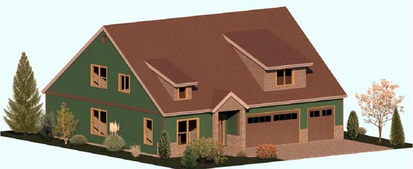House Plan 74339