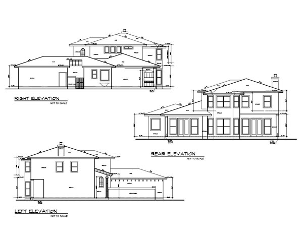 Mediterranean House Plan 74502 with 4 Beds, 4 Baths, 2 Car Garage Picture 1