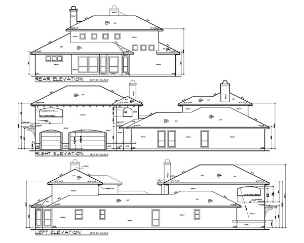 Mediterranean House Plan 74505 with 4 Beds, 5 Baths, 3 Car Garage Picture 1