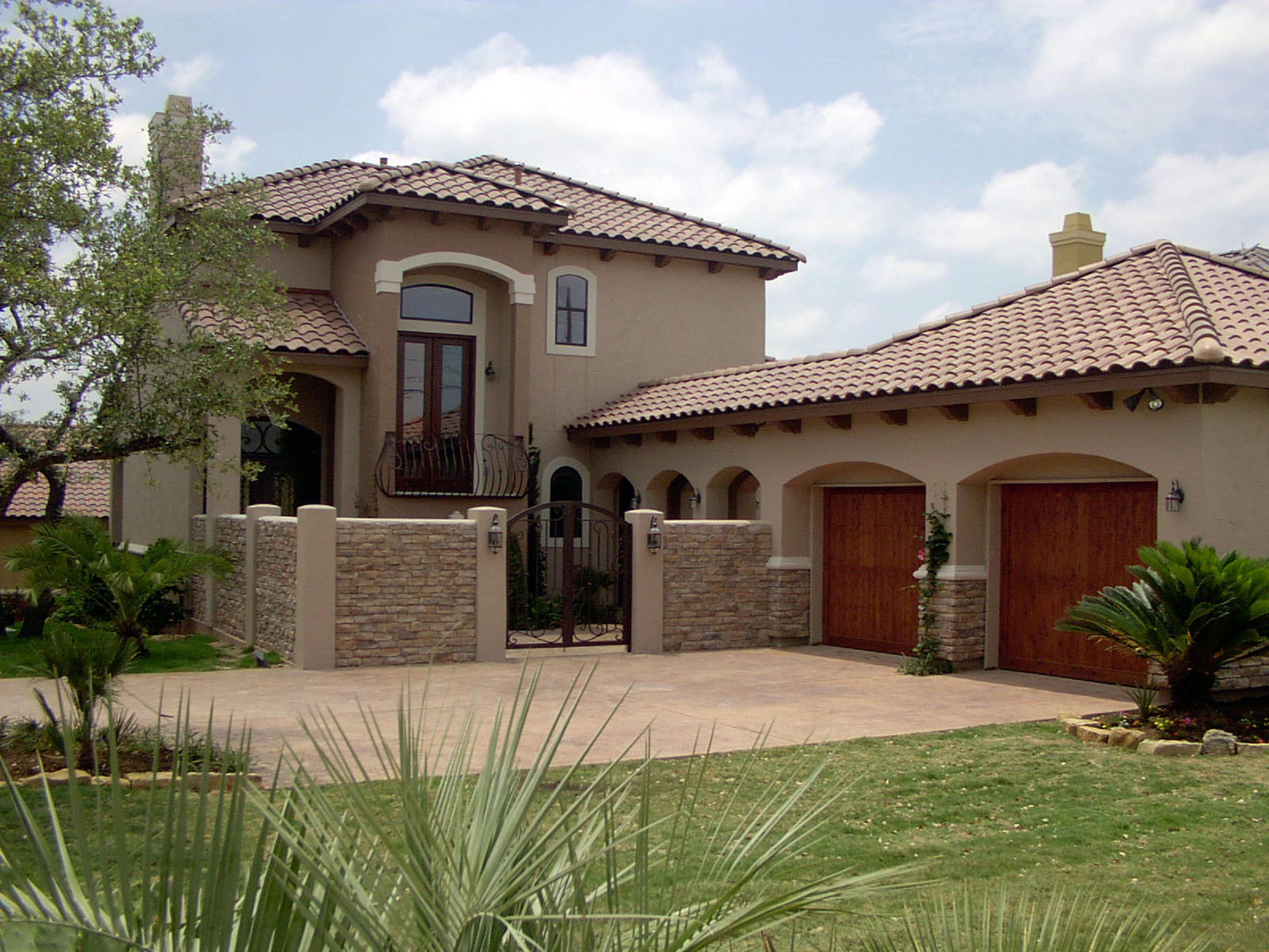 Mediterranean House Plan 74507 with 4 Beds, 4 Baths, 2 Car Garage Picture 4