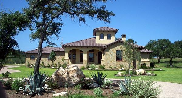 Mediterranean House Plan 74509 Elevation