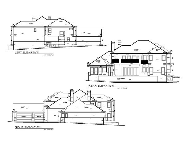 European, Mediterranean House Plan 74510 with 5 Beds, 6 Baths, 3 Car Garage Picture 1