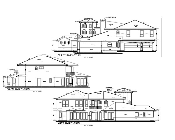 Italian, Mediterranean, Tuscan House Plan 74514 with 4 Beds, 6 Baths, 3 Car Garage Picture 1
