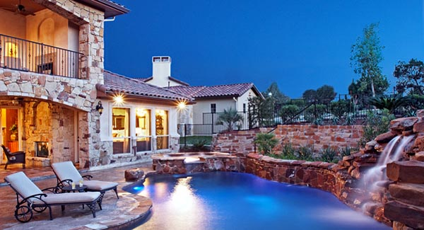 Italian, Mediterranean, Tuscan House Plan 74514 with 4 Beds, 6 Baths, 3 Car Garage Picture 3