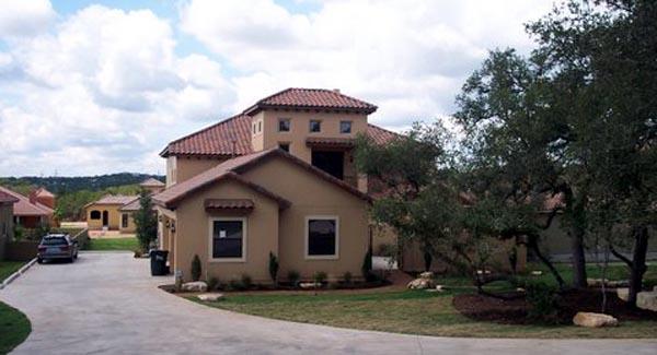Mediterranean House Plan 74518 with 4 Beds, 4 Baths, 3 Car Garage Picture 1