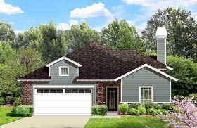 House Plan 74543