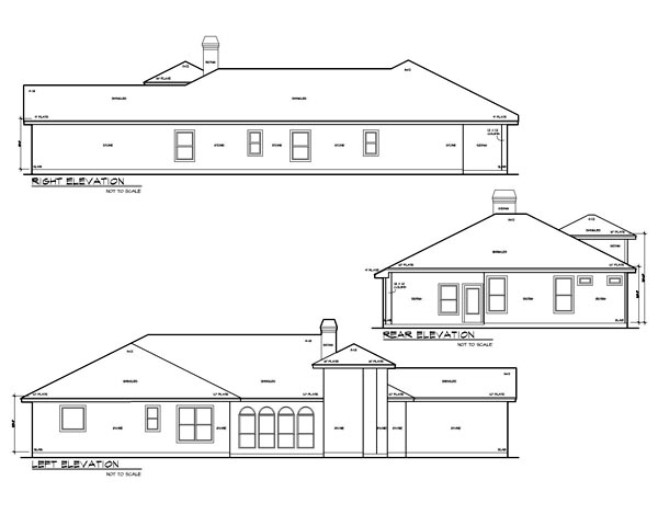 Mediterranean, Traditional House Plan 74549 with 4 Beds, 4 Baths, 2 Car Garage Picture 1