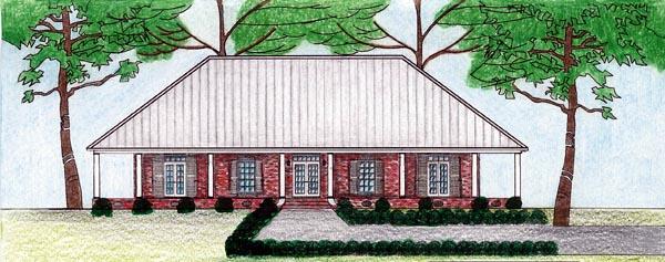 House Plan 74602
