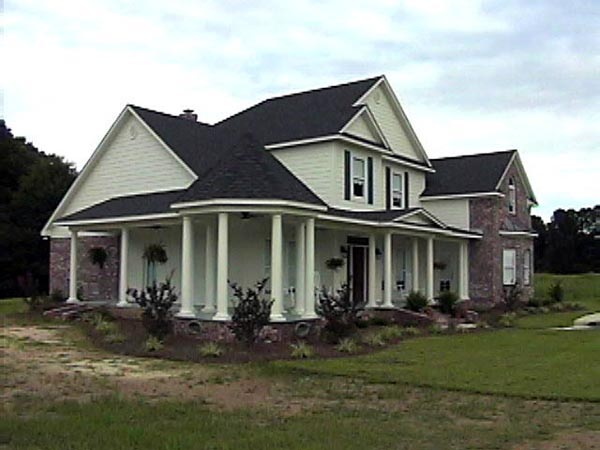 House Plan 74603 with 4 Beds, 4 Baths, 2 Car Garage Picture 1