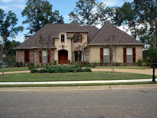 European House Plan 74630 with 3 Beds , 4 Baths , 3 Car Garage Elevation