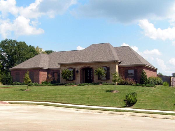 European House Plan 74631 with 3 Beds , 3 Baths , 3 Car Garage Elevation