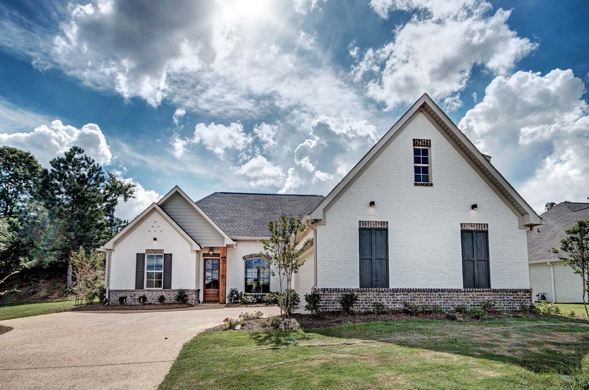 French Country, Traditional House Plan 74643 with 3 Beds, 4 Baths, 2 Car Garage Picture 1