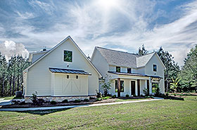 Country , Farmhouse , Traditional House Plan 74647 with 3 Beds, 3 Baths, 3 Car Garage Elevation