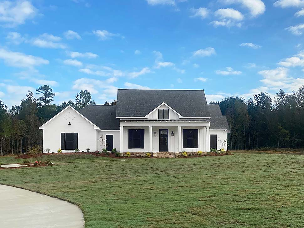 Country, Farmhouse, Traditional House Plan 74666 with 4 Beds, 3 Baths, 3 Car Garage Picture 4