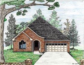House Plan 74711