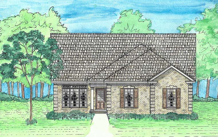 House Plan 74729