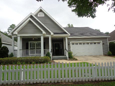 Cottage, Country, Traditional House Plan 74759 with 3 Beds, 2 Baths, 2 Car Garage Elevation