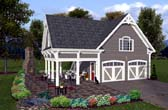 Plan Number 74803 - 792 Square Feet