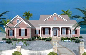 Traditional House Plan 74819 Elevation