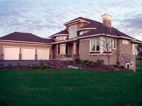 European House Plan 74821 Elevation