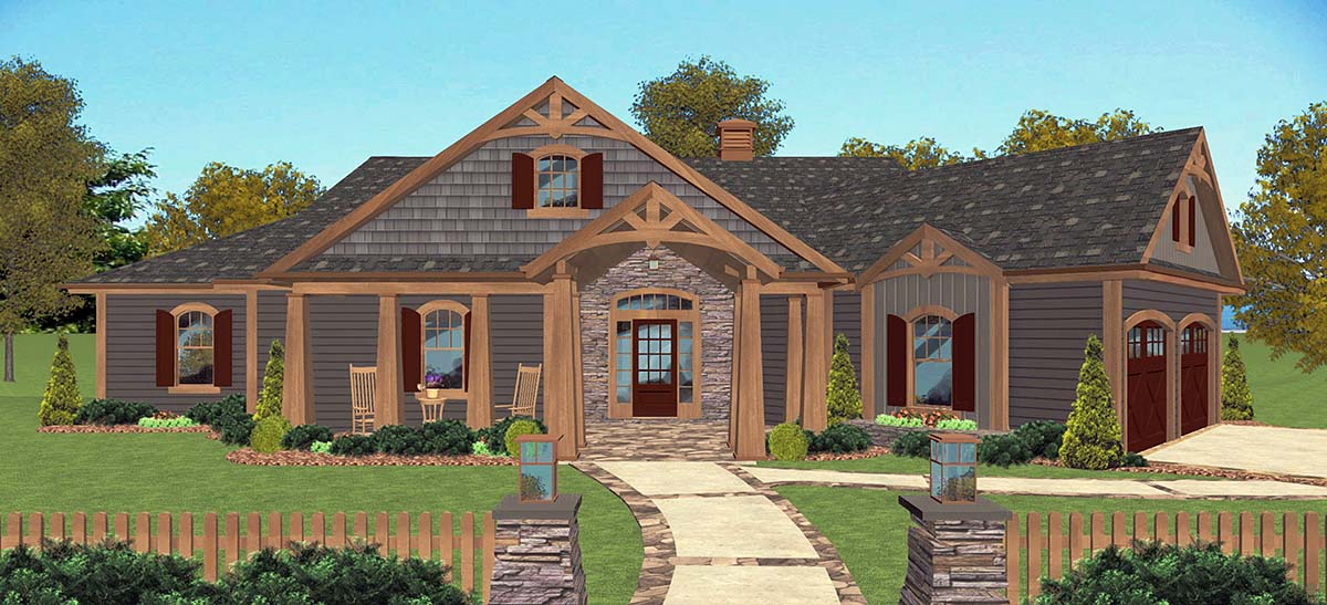House Plan 74864