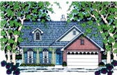 Plan Number 75011 - 1434 Square Feet