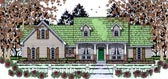 Plan Number 75015 - 1502 Square Feet