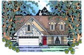 Plan Number 75017 - 1604 Square Feet