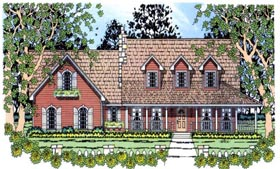 Country House Plan 75020 Elevation
