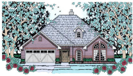 Country House Plan 75024 Elevation
