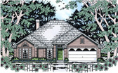 Plan Number 75028 - 1554 Square Feet