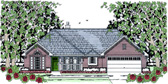Plan Number 75033 - 1489 Square Feet