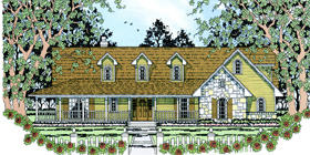 Plan Number 75034 - 1817 Square Feet