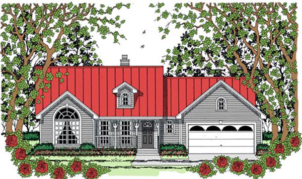 House Plan 75040