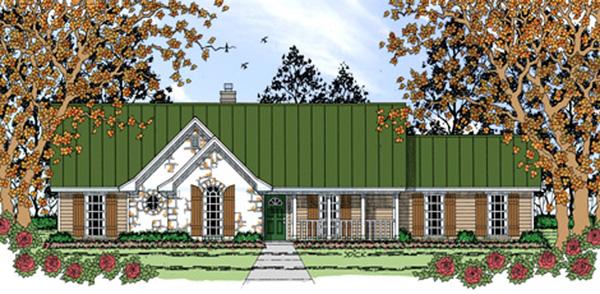 House Plan 75041